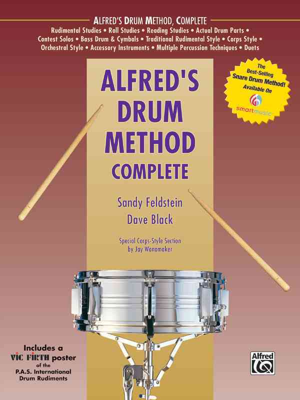 Alfred's Drum Method Complete By Feldstein, Sandy/ Black, Dave